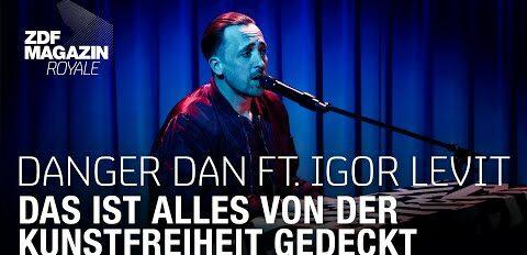 Danger Dan ft. Igor Levit ft. RTO - Das ist alles von der Kunstfreiheit gedeckt | ZDF Magazin Royale